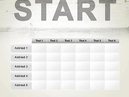 Start PowerPoint Template Slide 15