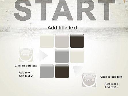 Start PowerPoint Template Slide 16