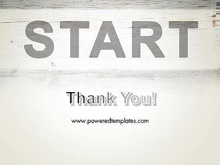 Start PowerPoint Template Slide 20