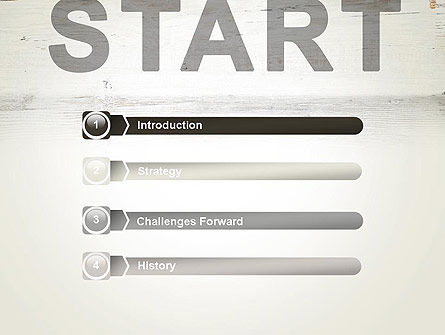 Start PowerPoint Template, Slide 3, 13754, Business Concepts — PoweredTemplate.com