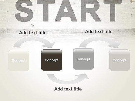Start PowerPoint Template, Slide 4, 13754, Business Concepts — PoweredTemplate.com