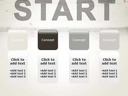 Start PowerPoint Template Slide 5
