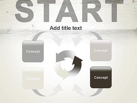 Start PowerPoint Template Slide 6