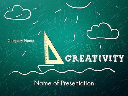 Education & Training: Creativity School PowerPoint Template #13756