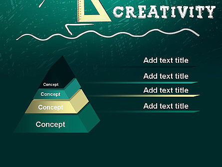 Creativity School PowerPoint Template Slide 12