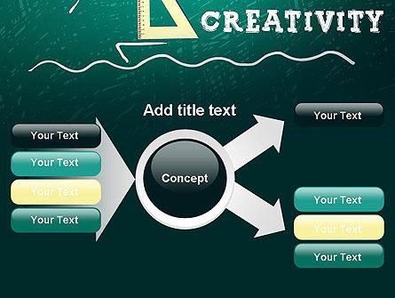 Creativity School PowerPoint Template Slide 14