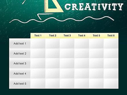 Creativity School PowerPoint Template Slide 15
