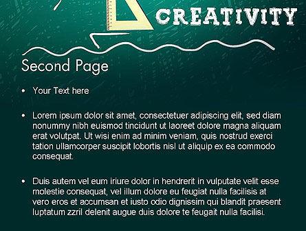 Creativity School PowerPoint Template, Slide 2, 13756, Education & Training — PoweredTemplate.com