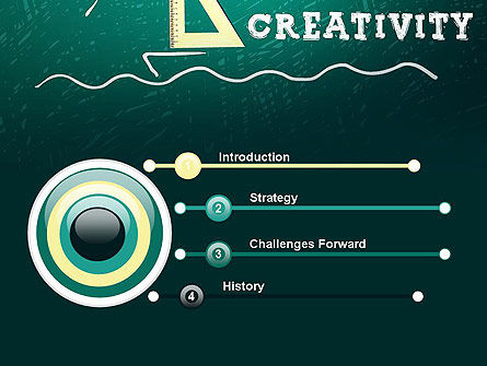 Creativity School PowerPoint Template, Slide 3, 13756, Education & Training — PoweredTemplate.com