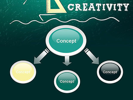 Creativity School PowerPoint Template, Slide 4, 13756, Education & Training — PoweredTemplate.com