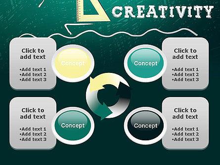 Creativity School PowerPoint Template Slide 9