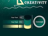Creativity School PowerPoint Template#11