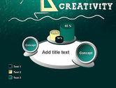 Creativity School PowerPoint Template#16