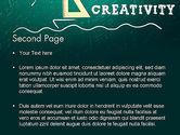 Creativity School PowerPoint Template#2