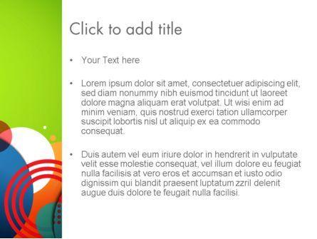 Childish Illustration PowerPoint Template, Slide 3, 13758, Education & Training — PoweredTemplate.com