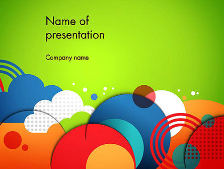 Childish Illustration PowerPoint Template