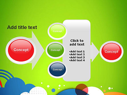 Childish Illustration PowerPoint Template Slide 17