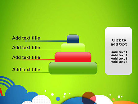 Childish Illustration PowerPoint Template Slide 8