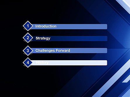 Right Direction Arrows PowerPoint Template Slide 3