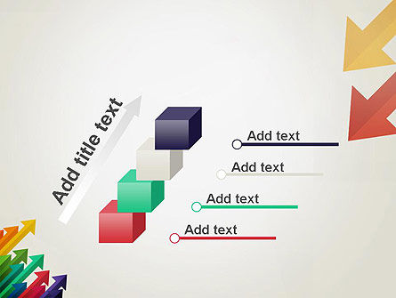 Color Arrows Pointing Towards Each Other PowerPoint Template Slide 14