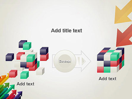 Color Arrows Pointing Towards Each Other PowerPoint Template Slide 17