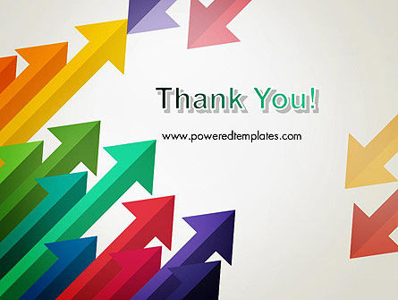 Color Arrows Pointing Towards Each Other PowerPoint Template Slide 20