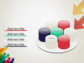 Color Arrows Pointing Towards Each Other PowerPoint Template#12