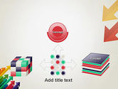 Color Arrows Pointing Towards Each Other PowerPoint Template#19