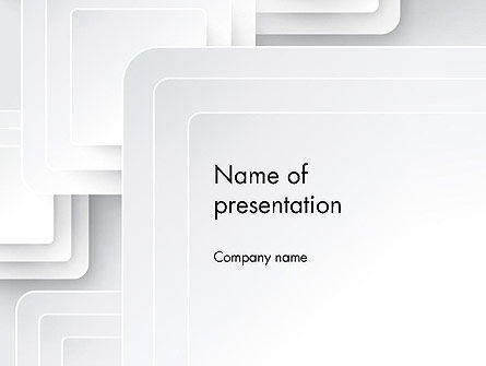 Gypsum Boards Abstract PowerPoint Template
