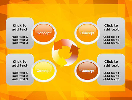 Sunny Background Abstract PowerPoint Template Slide 9