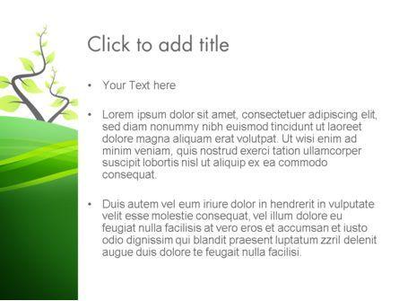 Spring Background PowerPoint Template, Slide 3, 13768, Nature & Environment — PoweredTemplate.com