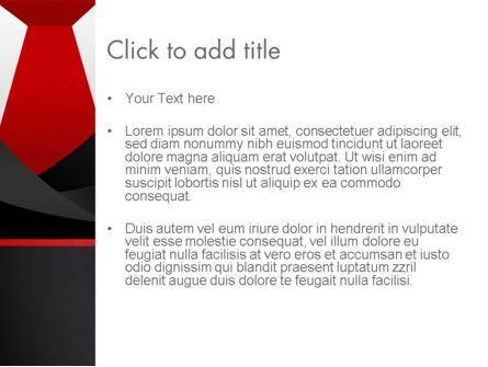 Formal Suit PowerPoint Template, Slide 3, 13774, Business — PoweredTemplate.com