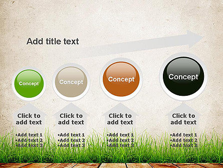 Wooden Floor Terrace PowerPoint Template Slide 13