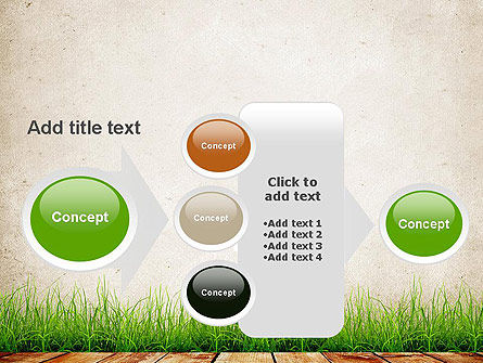 Wooden Floor Terrace PowerPoint Template Slide 17