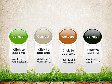Wooden Floor Terrace PowerPoint Template Slide 5