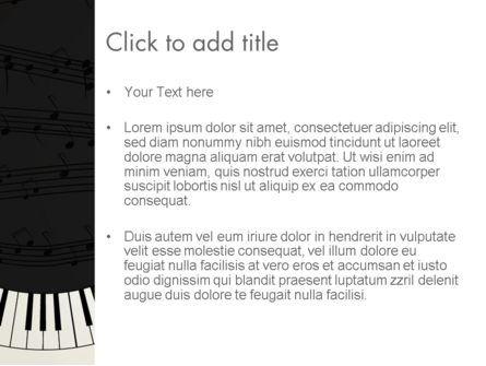 Guitar and Piano Art PowerPoint Template, Slide 3, 13778, Art & Entertainment — PoweredTemplate.com