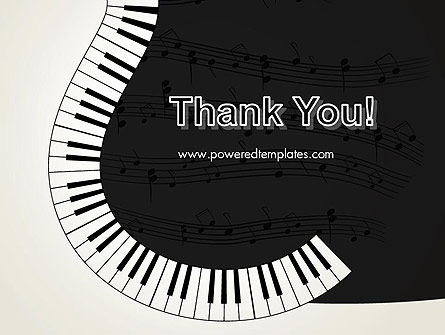 Guitar and Piano Art PowerPoint Template Slide 20