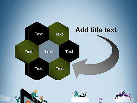 Mobile Advertising PowerPoint Template Slide 11