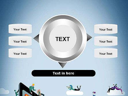 Mobile Advertising PowerPoint Template Slide 12