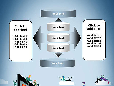 Mobile Advertising PowerPoint Template Slide 13