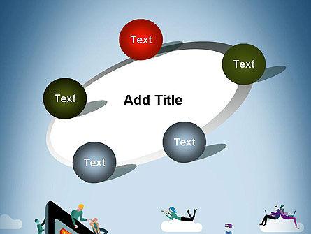 Mobile Advertising PowerPoint Template Slide 14