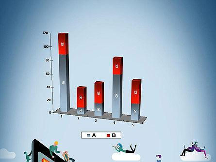 Mobile Advertising PowerPoint Template Slide 17