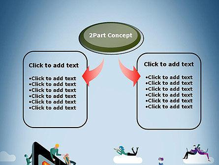 Mobile Advertising PowerPoint Template Slide 4