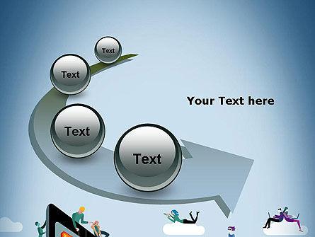 Mobile Advertising PowerPoint Template Slide 6