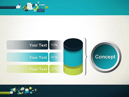 Flat Design Ads PowerPoint Template Slide 11
