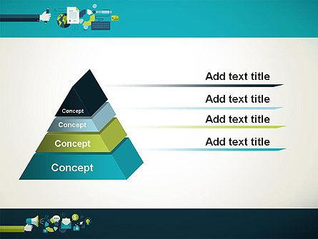 Flat Design Ads PowerPoint Template Slide 12