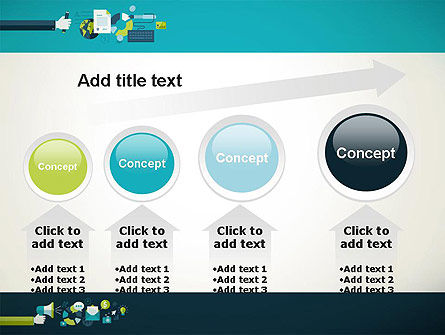 Flat Design Ads PowerPoint Template Slide 13