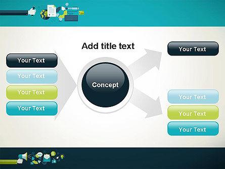 Flat Design Ads PowerPoint Template Slide 14