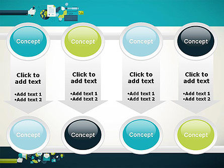 Flat Design Ads PowerPoint Template Slide 18