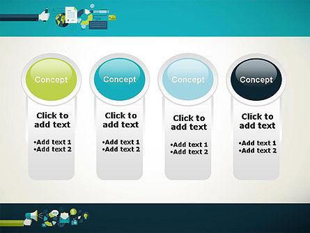 Flat Design Ads PowerPoint Template Slide 5